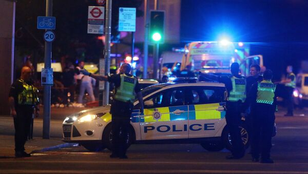 Police attend to an incident near London Bridge in London, Britain, June 3, 2017 - Sputnik International