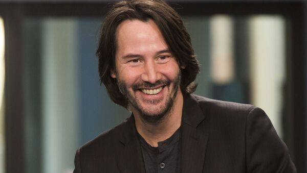 Keanu Reeves participates in the BUILD Speaker Series to discuss John Wick: Chapter 2 at AOL Studios on Thursday, Feb. 2, 2017, in New York - Sputnik International