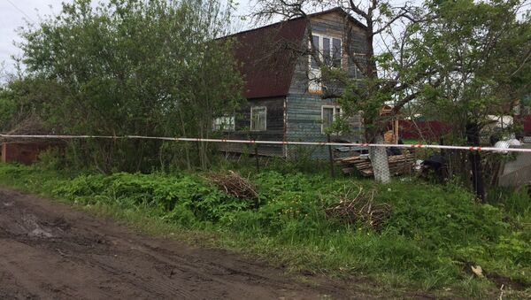 The house in Redkino, Tver Region, where the shooting happened - Sputnik International