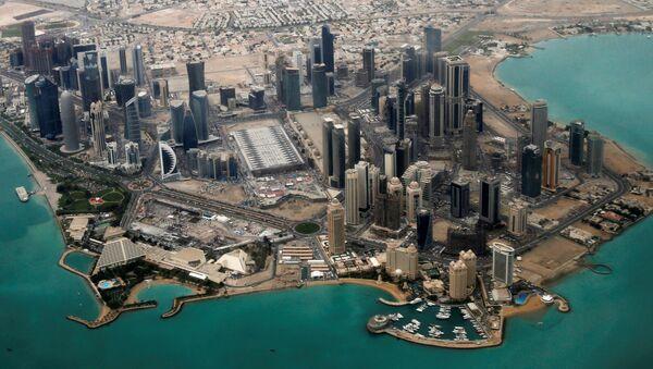 An aerial view of Doha's diplomatic area (File) - Sputnik International