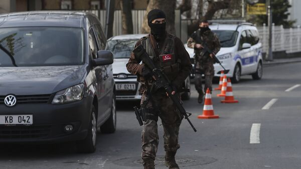 Turkish special security force members (File) - Sputnik International