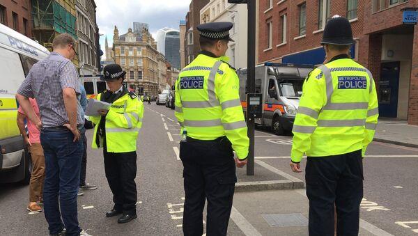 UK police officers - Sputnik International