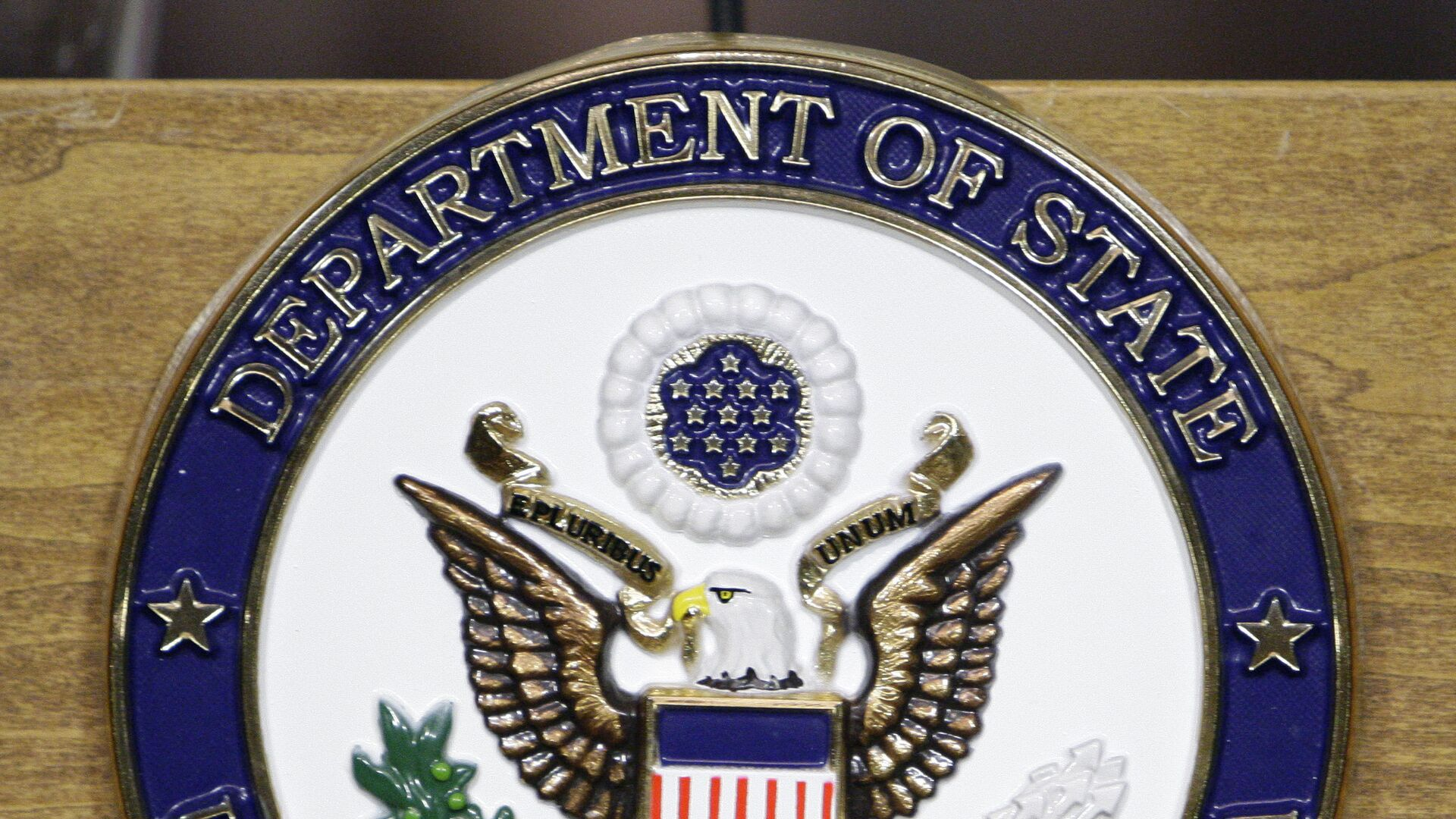 The seal of the US Department of State - Sputnik International, 1920, 27.09.2021