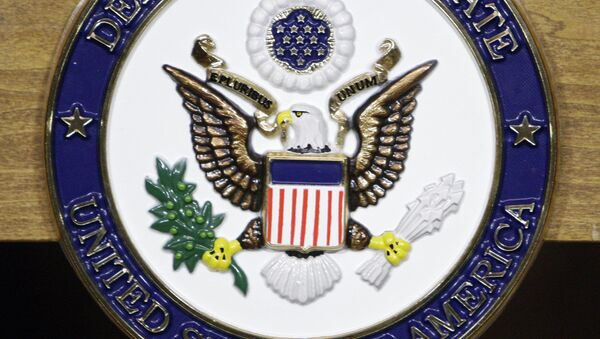 The seal of the US Department of State - Sputnik International