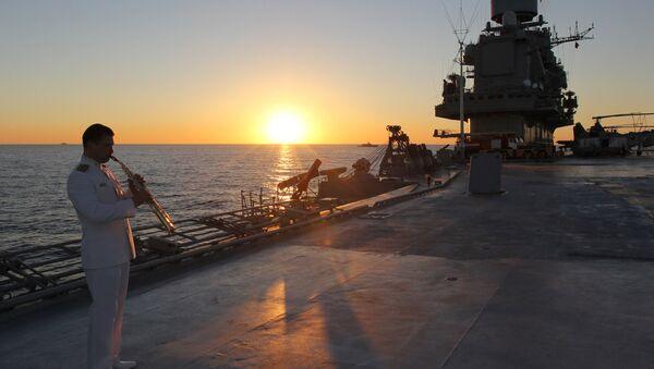 Distant sea voyage by Russian Northern Fleet's combat vessels - Sputnik International