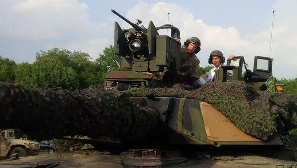 Romainian Tank - Sputnik International