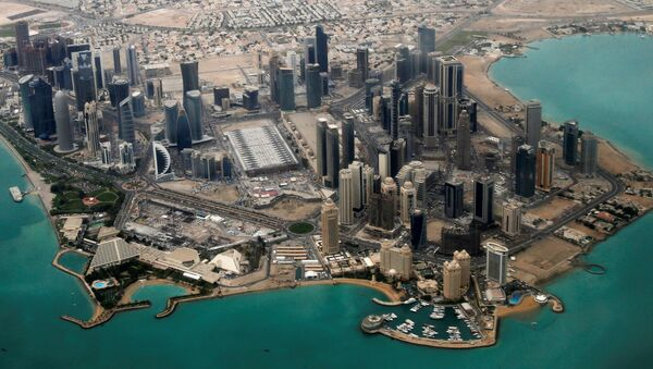 FILE PHOTO - An aerial view of Doha's diplomatic area March 21, 2013. - Sputnik International