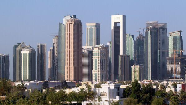 A view shows buildings in Doha, Qatar, June 9, 2017.  - Sputnik International