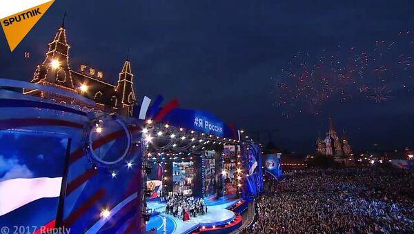 Russia Day Marked With Fireworks - Sputnik International