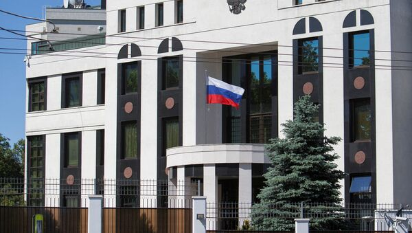 A general view shows the Embassy of Russia in Chisinau, Moldova May 30, 2017 - Sputnik International