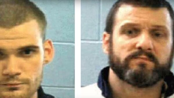 Ricky Duboseand Donnie Rowe, two Georgia inmates who killed two corrections officers before escaping a transport bus - Sputnik International