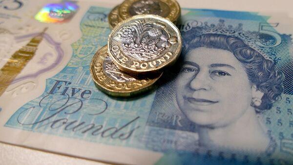 British currency. - Sputnik International