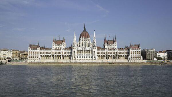 Hungarian Parliament Building, Budapest, Hungary - Sputnik International