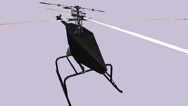 New model of an unmanned aerial vehicle (UAV) of the 'Voron 777-1' helicopter type - Sputnik International