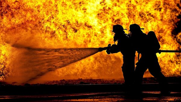 Firefighters - Sputnik International