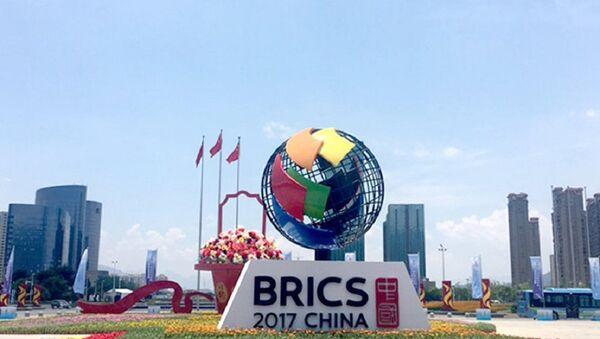 Logo of the BRICS - Sputnik International