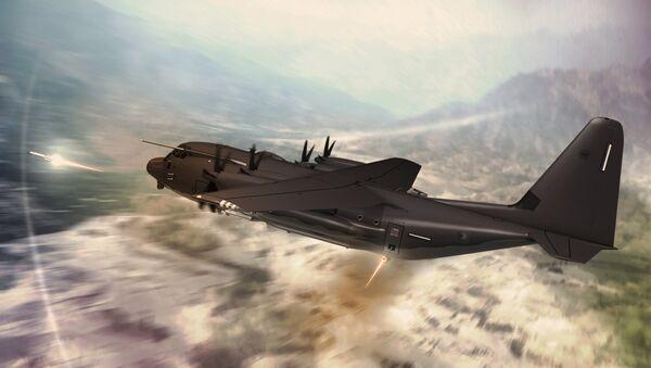 Lockheed Martin's C-130J-SOF Super Hercules - Sputnik International