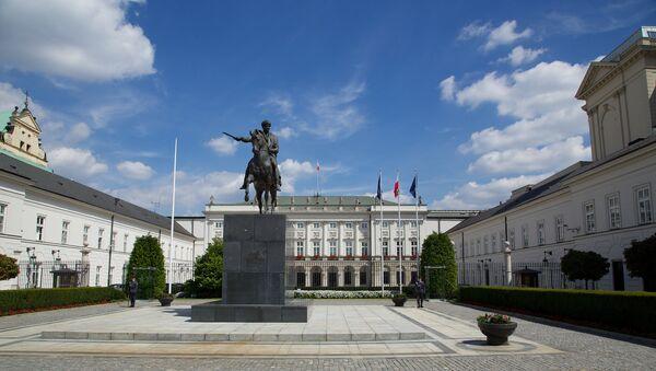 Presidential palace in Warsaw - Sputnik International