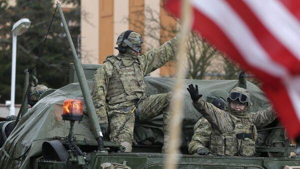 US army soldiers (File) - Sputnik International