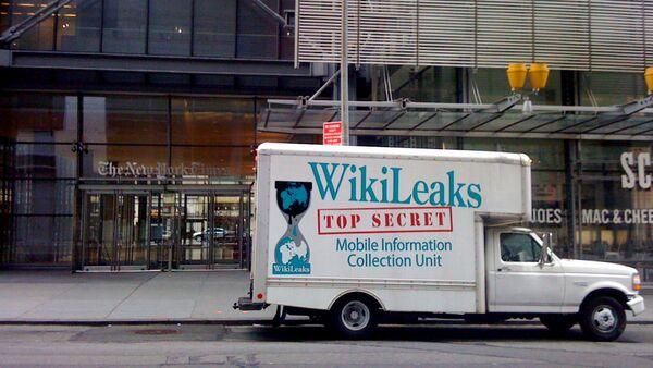 Wikileaks Truck - Sputnik International