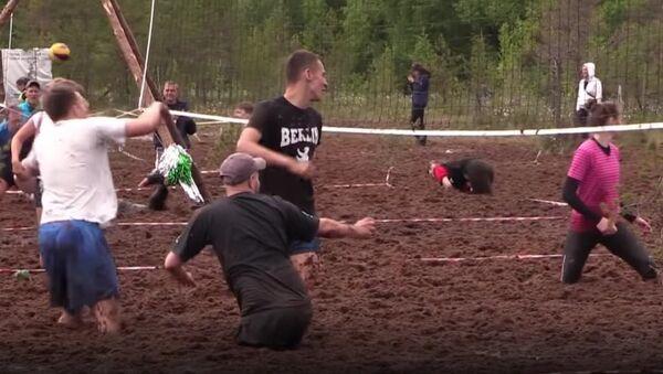 St. Petersburg's Swamp Volleyball Championship - Sputnik International