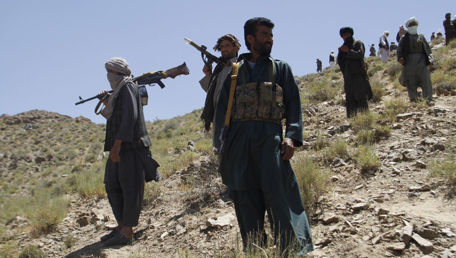 Taliban militants. (File) - Sputnik International, 1920, 14.07.2021