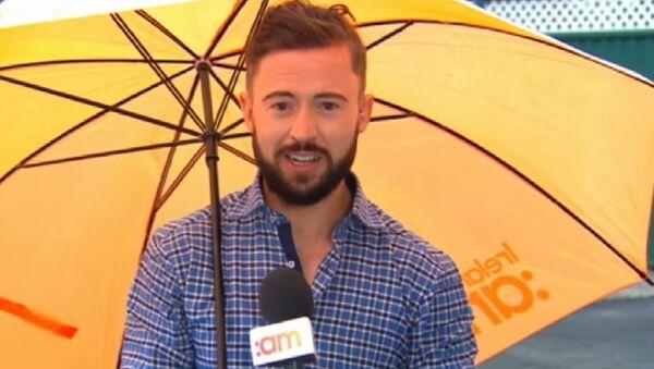 TV Blooper: Irish Weather Wins Once Again! - Sputnik International