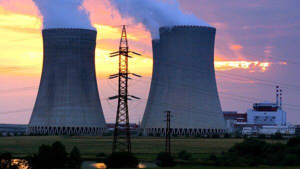 Czech Republic's Temelin nuclear power plant, 60 kilometers (38 miles) from the Czech border with Austria and Germany, southern Bohemia. (File) - Sputnik International