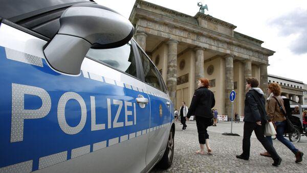 Berlin Police Car File Photo - Sputnik International