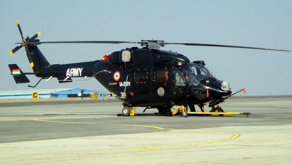 HAL Rudra helicopter - Sputnik International