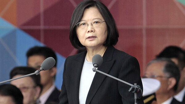 Taiwan's President Tsai Ing-wen (File) - Sputnik International