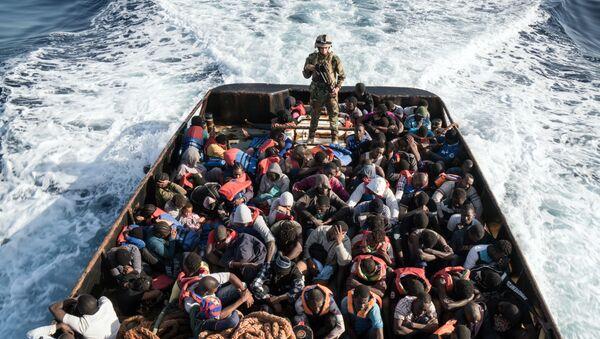 Europe-bound illegal migrants - Sputnik International