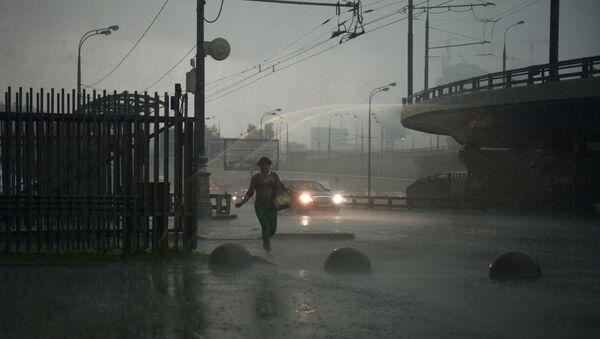 Rain in Moscow - Sputnik International