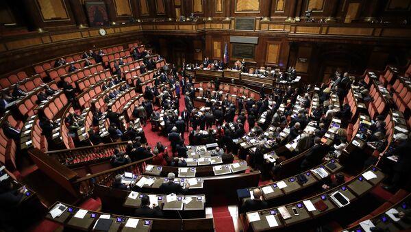 A view of the Italian Senate, in Rome (File) - Sputnik International