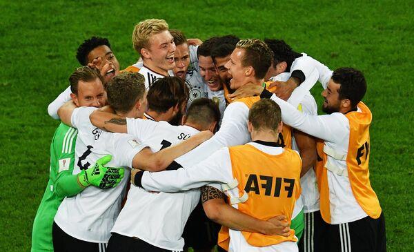 The German national football team won on Sunday the 2017 FIFA Confederations Cup. - Sputnik International
