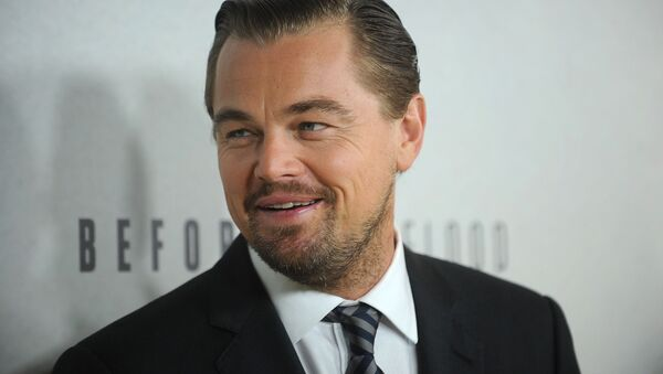 Leonardo Dicaprio attends the premiere of National Geographic Channel's, Before The Flood, at the United Nations on Thursday, Oct. 20, 2016, in New York. - Sputnik International