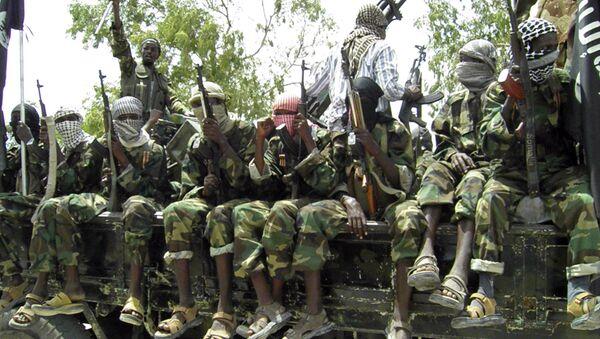 Al-Shabaab fighters. (File) - Sputnik International