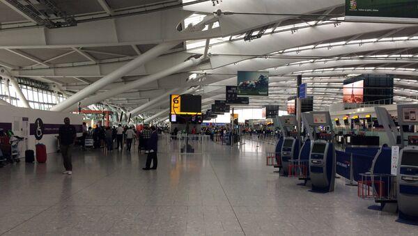 Heathrow airport terminal. (File) - Sputnik International