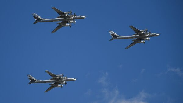 Tu-95MS strategic bombers - Sputnik International