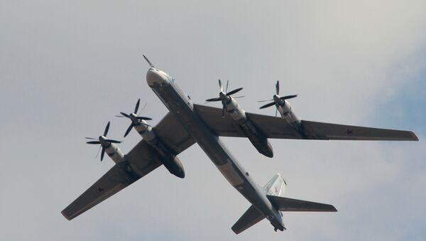 The Tupolev Tu-95M strategic missile carrying bomber - Sputnik International