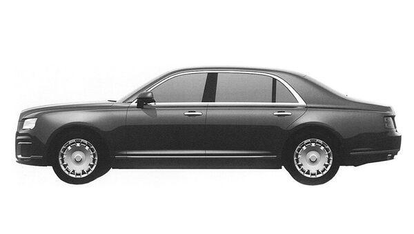 Prospective exterior design of the sedan in the Kortezh ('Cortege') project - Sputnik International