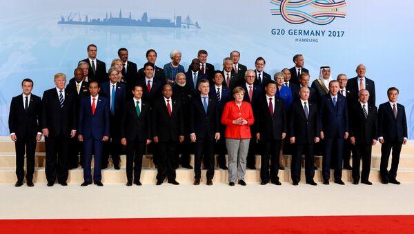 G20 leaders summit in Hamburg - Sputnik International
