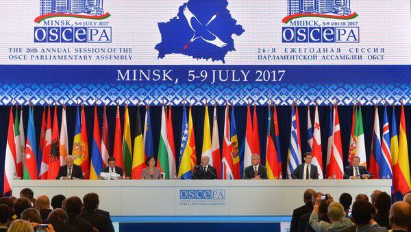 OSCE Parliamentary Assembly session - Sputnik International
