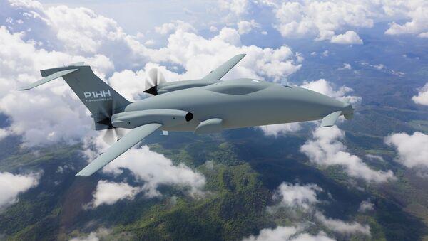 The Piaggio Aerospace Hammerhead UAV. - Sputnik International
