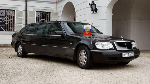 President Vladimir Putin's car - Sputnik International