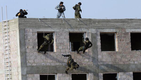 CSTO holds Unbreakable Brotherhood 2015 military exercise in Armenia - Sputnik International