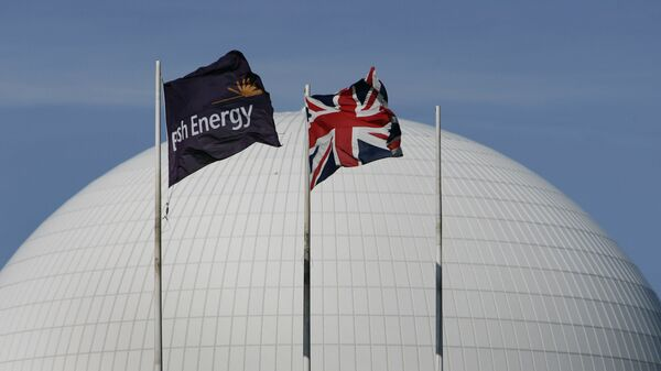The dome of the nuclear reactor of Sizewell nuclear plant, eastern England - Sputnik International