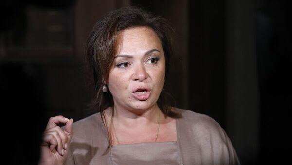 Natalia Veselnitskaya speaks to journalists in Moscow, Russia, Tuesday, July 11, 2017. - Sputnik International