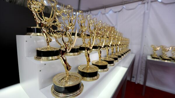 A general view of the atmosphere at the 68th Primetime Emmy Awards on Sunday, Sept. 18, 2016, at the Microsoft Theater in Los Angeles. - Sputnik International