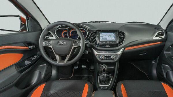 LADA Vesta SW Cross interior - Sputnik International